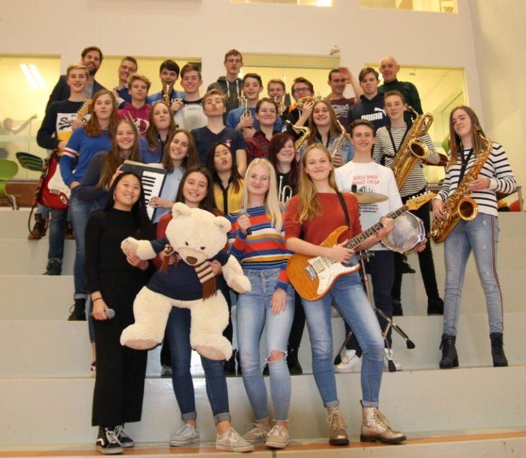 Fedde S. Big Band vertrekt naar Oostenrijk