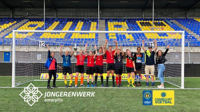 Team Grou winnaar Cambuurt Voetbal 2019