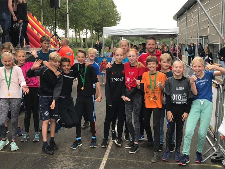Succesvolle adventure run voor eersteklassers gymnasium