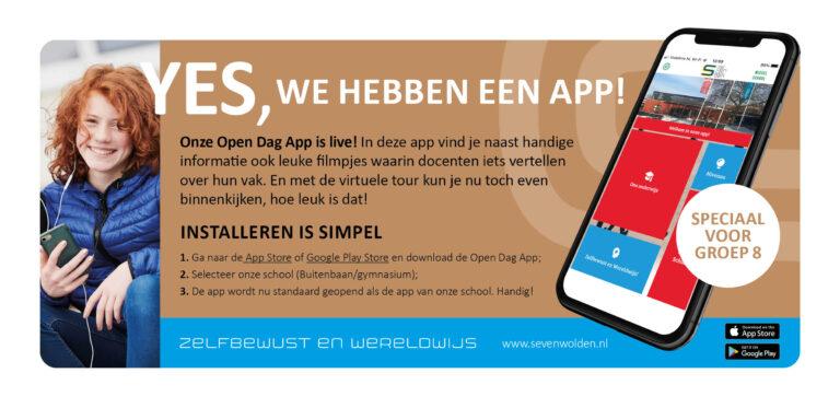 Heb jij onze app al gedownload?