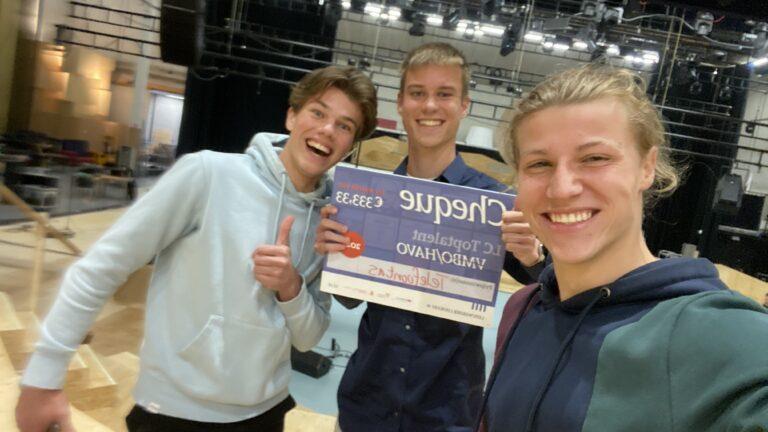 Havoleerlingen winnaars Toptalent profielwerkstuk