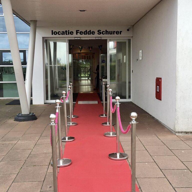 Diploma-uitreiking Fedde Schurer